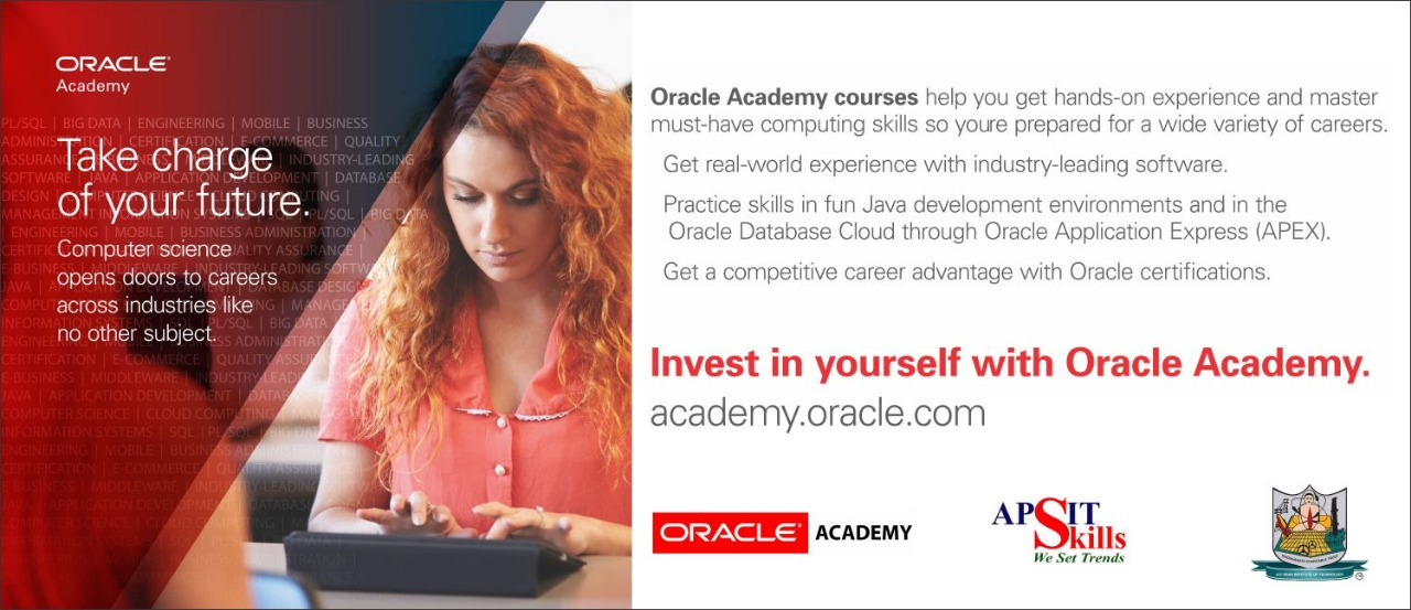 Oracle Academy @ APSIT